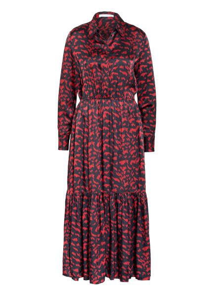 BOSS Kleid DESTERIK, Farbe: DUNKELBLAU/ DUNKELROT (Bild 1)