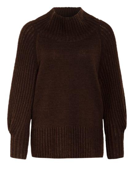 LUISA CERANO Pullover, Farbe: DUNKELBRAUN (Bild 1)