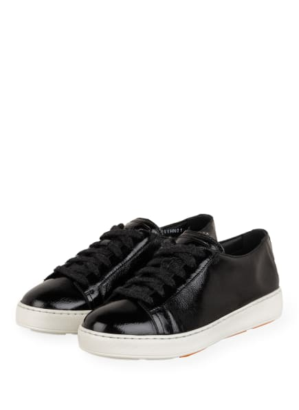Santoni Plateau-Sneaker , Farbe: SCHWARZ (Bild 1)