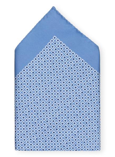 BOSS Einstecktuch , Farbe: HELLBLAU/ WEISS (Bild 1)