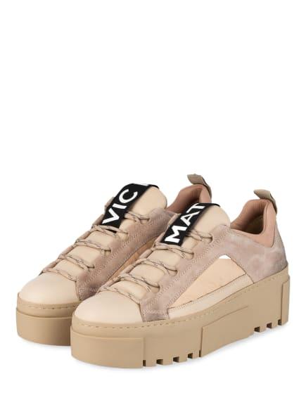 VIC MATIÉ Plateau-Sneaker, Farbe: BEIGE (Bild 1)