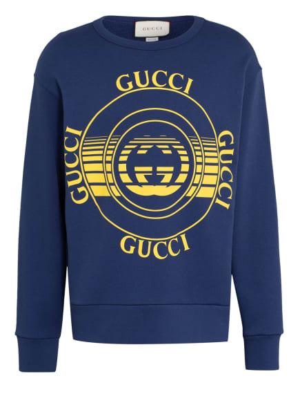 GUCCI Oversized-Sweatshirt, Farbe: BLAU (Bild 1)