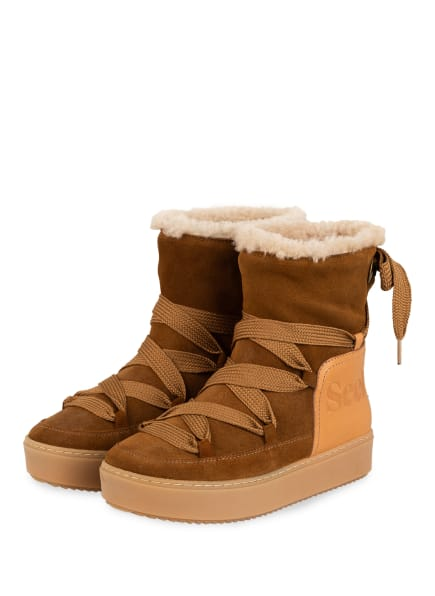 SEE BY CHLOÉ Moon Boots, Farbe: 506 Tabacco (Bild 1)