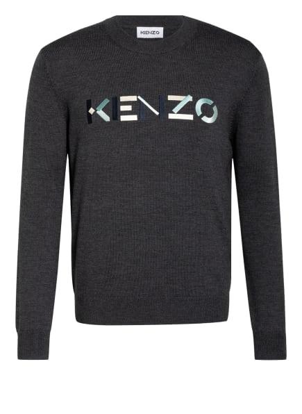 KENZO Pullover, Farbe: DUNKELGRAU (Bild 1)