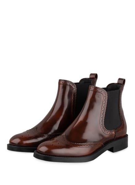 TOD'S Chelsea-Boots, Farbe: BRAUN (Bild 1)
