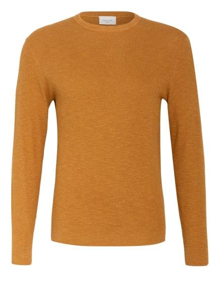 PROFUOMO Pullover , Farbe: DUNKELGELB (Bild 1)