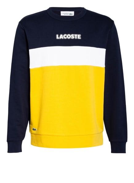 LACOSTE Sweatshirt, Farbe: DUNKELBLAU/ GELB/ WEISS (Bild 1)