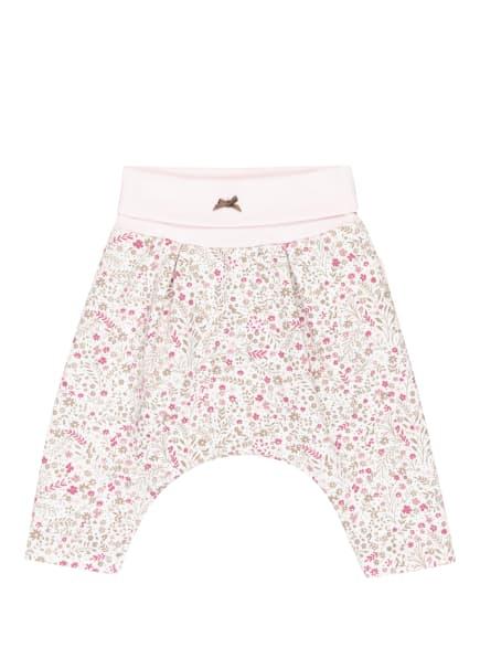 Sanetta FIFTYSEVEN Sweatpants, Farbe: WEISS/ PINK/ GRÜN (Bild 1)