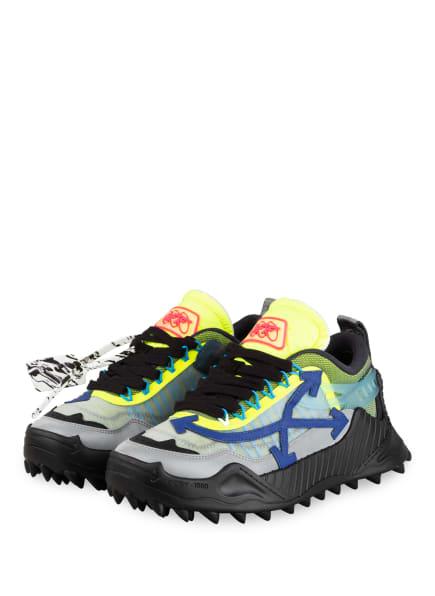 OFF-WHITE Sneaker ODSY-1000, Farbe: NEONGELB/ SCHWARZ (Bild 1)