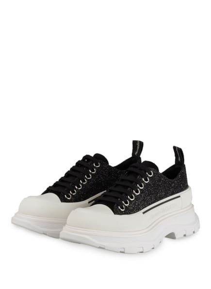 Alexander McQUEEN Plateau-Sneaker, Farbe: SCHWARZ (Bild 1)