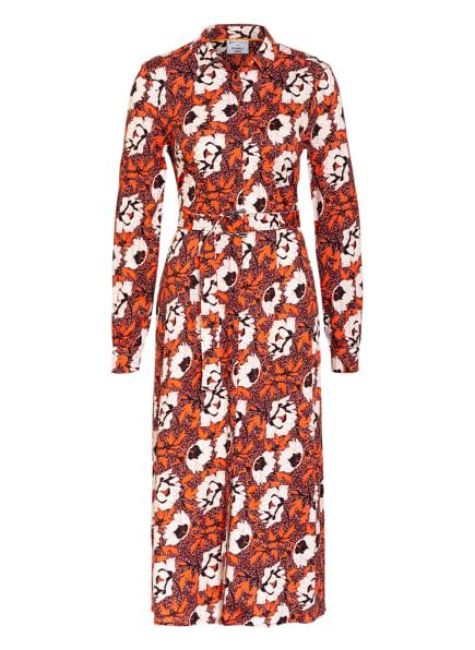 DESOTO Hemdblusenkleid KATE , Farbe: DUNKELROT/ ROT/ CREME (Bild 1)
