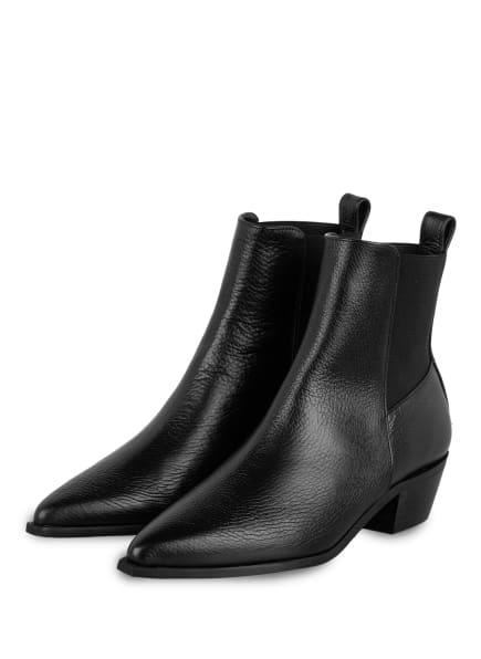 Flattered Cowboy Boots, Farbe: SCHWARZ (Bild 1)