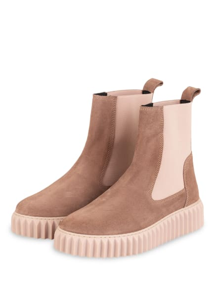 VOILE BLANCHE Chelsea-Boots BETH, Farbe: BRAUN/ HELLROSA (Bild 1)