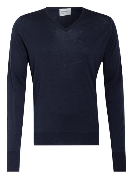 JOHN SMEDLEY Pullover BOBBY, Farbe: DUNKELBLAU (Bild 1)