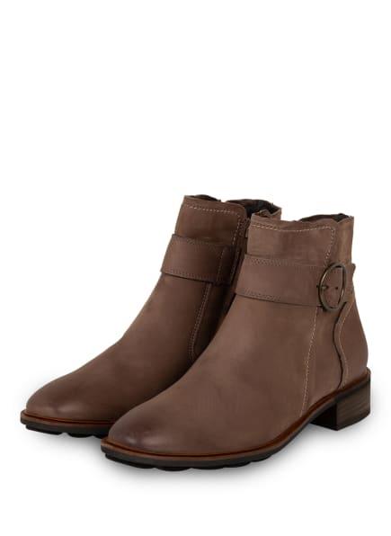 paul green Boots, Farbe: HELLBRAUN (Bild 1)