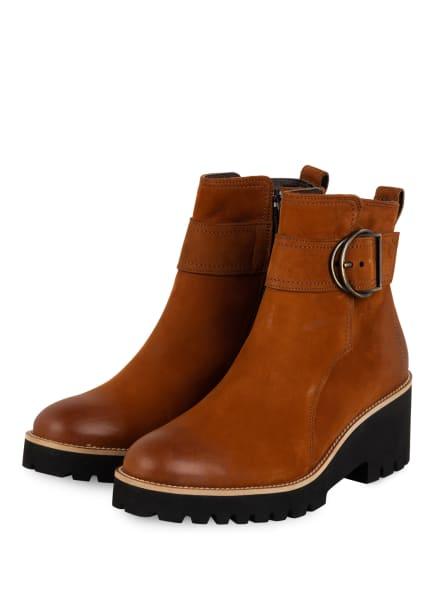 paul green Boots, Farbe: BRAUN (Bild 1)
