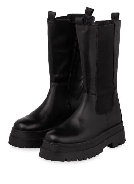 Mrs & HUGS Plateau-Boots, Farbe: SCHWARZ (Bild 1)