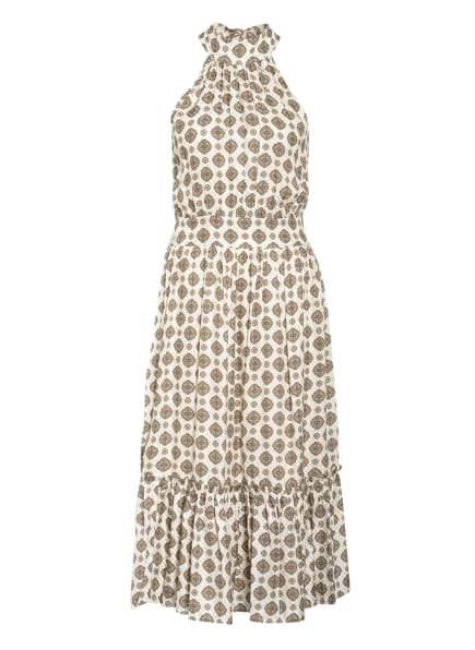 MICHAEL KORS Kleid mit Seide, Farbe: ECRU/ BEIGE (Bild 1)