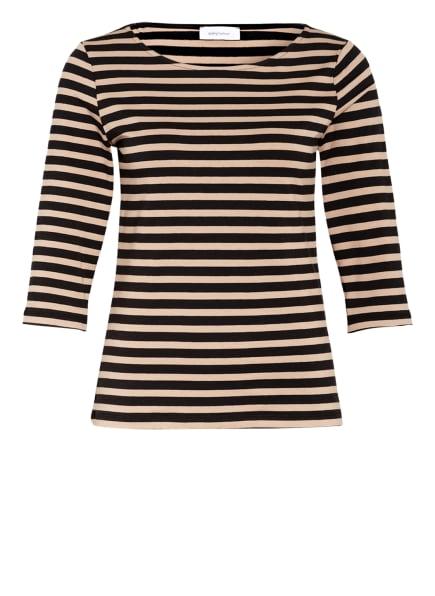 darling harbour Shirt mit 3/4-Arm, Farbe: BRAUN/ SCHWARZ GESTREIFT (Bild 1)