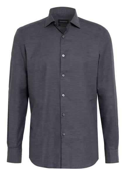 Ermenegildo Zegna Hemd Regular Fit, Farbe: DUNKELGRAU (Bild 1)