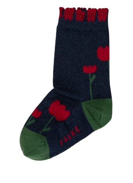 FALKE Socken mit Glitzergarn, Farbe: 6116 SPACE BLUE (Bild 1)