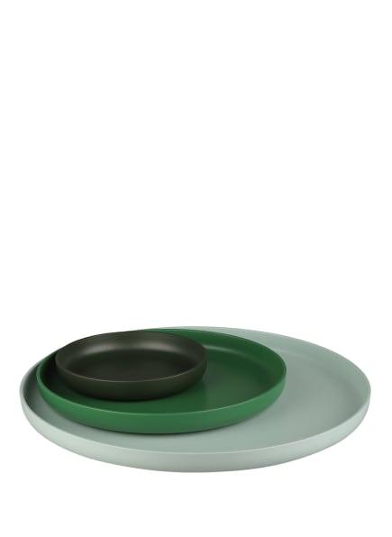 vitra 3er-Set Tabletts, Farbe: MINT/ GRÜN/ DUNKELGRÜN (Bild 1)