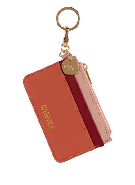 IPHORIA Kartenetui mit Münzfach, Farbe: HELLROT/ ROSÉ (Bild 1)