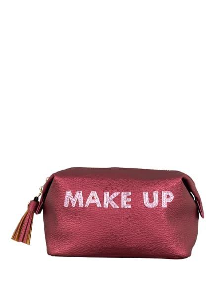 IPHORIA Kosmetiktasche, Farbe: DUNKELROT (Bild 1)