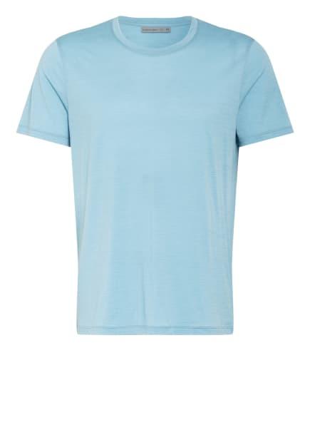 icebreaker T-Shirt TECH LITE aus Merinowolle, Farbe: HELLBLAU (Bild 1)