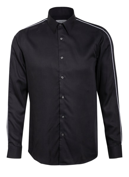 REISS Jersey-Hemd KAMARA Slim Fit, Farbe: DUNKELBLAU (Bild 1)