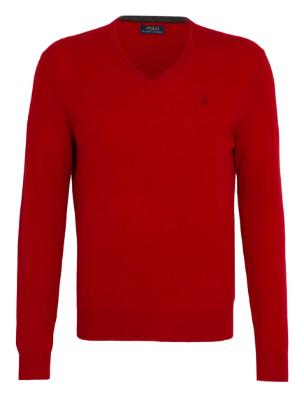 POLO RALPH LAUREN Pullover, Farbe: ROT (Bild 1)