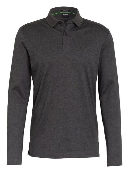 BOSS Jersey-Poloshirt PIROL Regular Fit, Farbe: DUNKELGRAU (Bild 1)