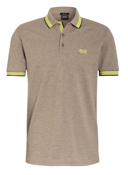 BOSS Piqué-Poloshirt PADDY Regular Fit, Farbe: HELLBRAUN (Bild 1)