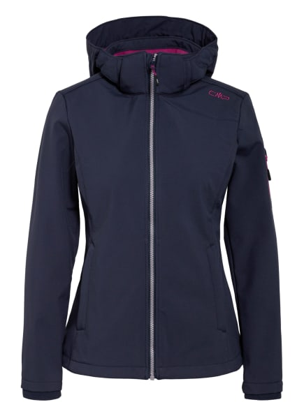CMP Softshell-Jacke, Farbe: DUNKELBLAU (Bild 1)