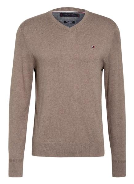 TOMMY HILFIGER Pullover, Farbe: HELLBRAUN (Bild 1)