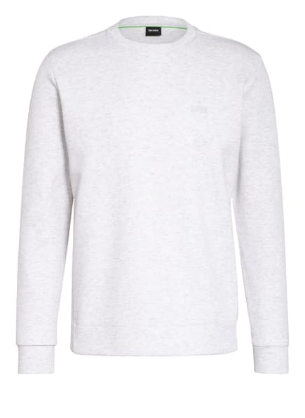BOSS Sweatshirt SALBO X, Farbe: HELLGRAU MELIERT (Bild 1)