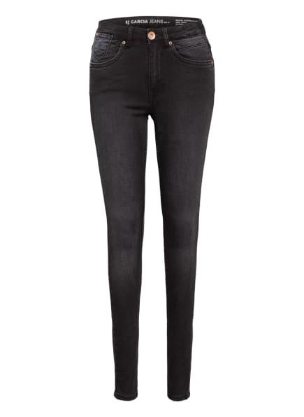 GARCIA Jeans RIANNA Super Slim Fit, Farbe: DUNKELGRAU (Bild 1)
