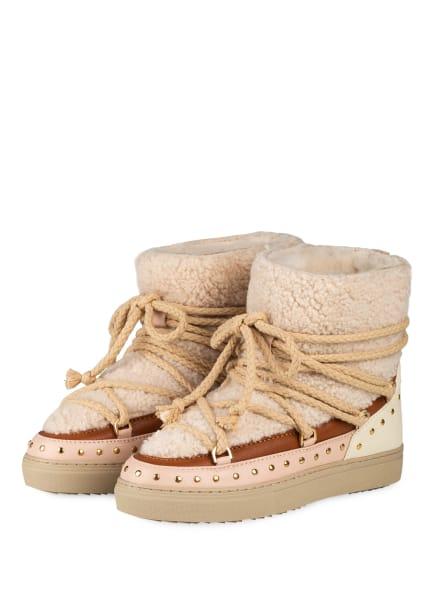 INUIKII Boots, Farbe: BEIGE/ COGNAC/ HELLROSA (Bild 1)