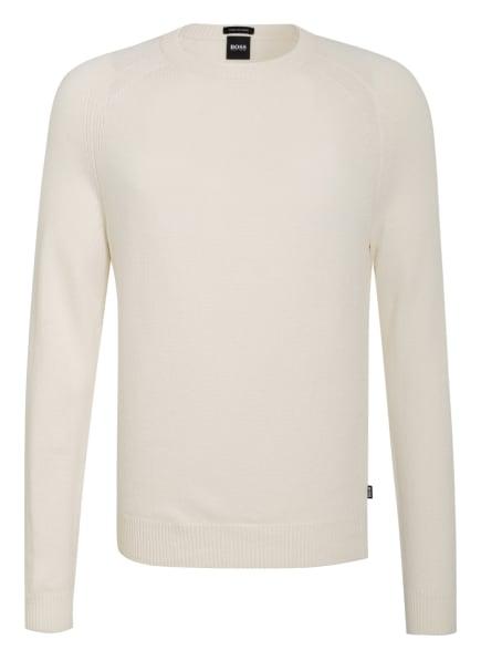 BOSS Cashmere-Pullover BANILO, Farbe: WEISS (Bild 1)