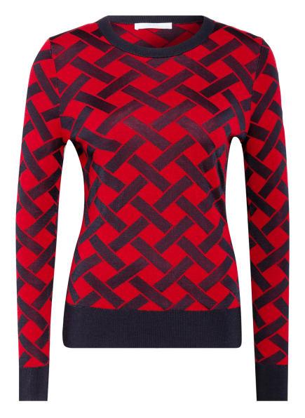 BOSS Pullover FADENIA , Farbe: ROT/ DUNKELBLAU (Bild 1)