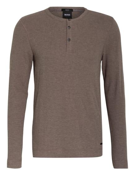 BOSS Henley-Shirt TRIX, Farbe: TAUPE (Bild 1)