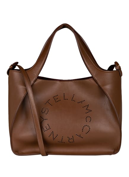 STELLA McCARTNEY Hobo-Bag LOGO mit Pouch, Farbe: BRAUN (Bild 1)