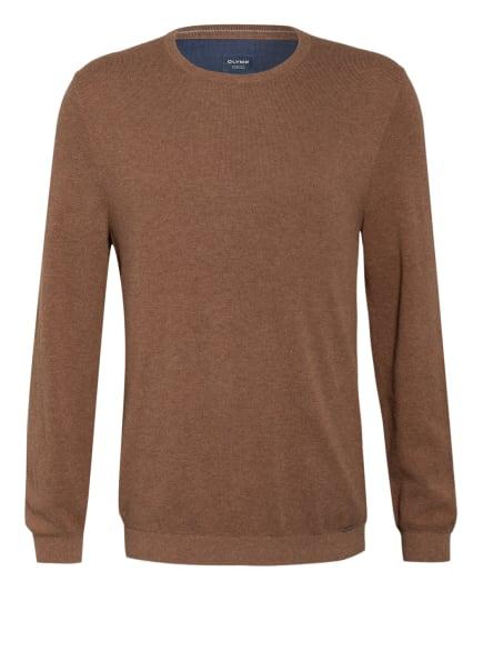 OLYMP Pullover , Farbe: HELLBRAUN (Bild 1)