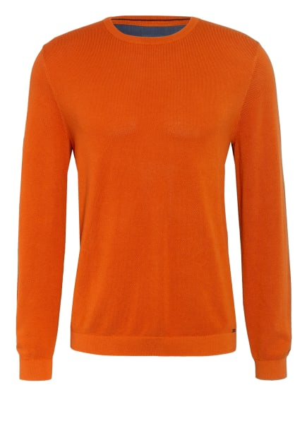 OLYMP Pullover , Farbe: DUNKELORANGE (Bild 1)