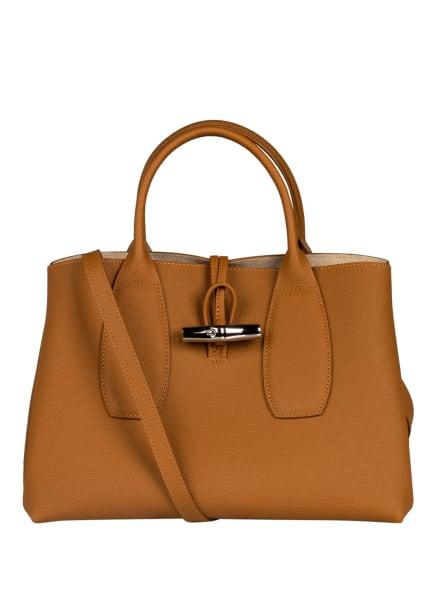 LONGCHAMP Handtasche ROSEAU, Farbe: COGNAC (Bild 1)