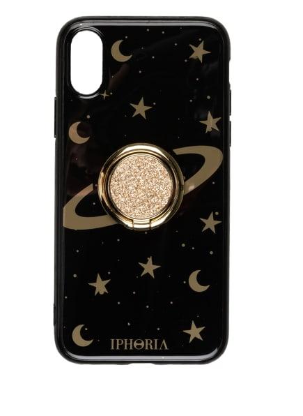 IPHORIA Smartphone-Hülle GOLD RING, Farbe: SCHWARZ/ GOLD (Bild 1)