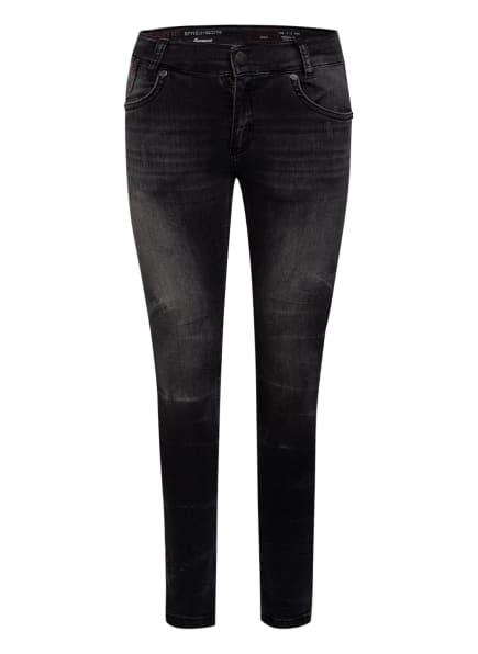 BLUE EFFECT Skinny-Jeans Slim Fit, Farbe: DUNKELGRAU (Bild 1)
