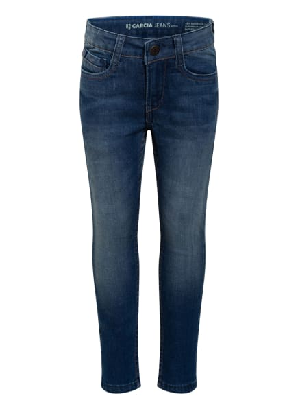 GARCIA Jeans XEVI Super Slim Fit, Farbe: BLAU (Bild 1)