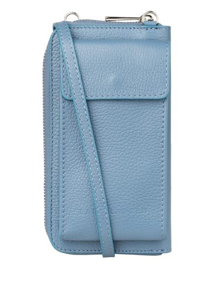 LARA LAURÉN Smartphone-Tasche CITY, Farbe: BLAU (Bild 1)