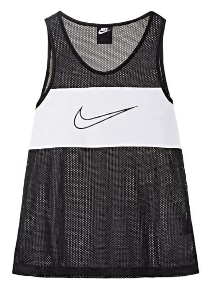 Nike Top SPORTSWEAR aus Mesh, Farbe: SCHWARZ/ WEISS (Bild 1)